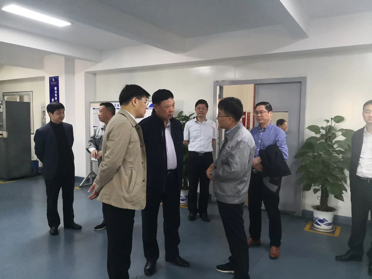 Guo An, Secretary of Yingtan municipal Party committee, Zhang Zijian, executive vice mayor and other leaders visited our company for investigation and guidance
