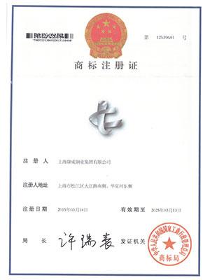 商标注册证12539681