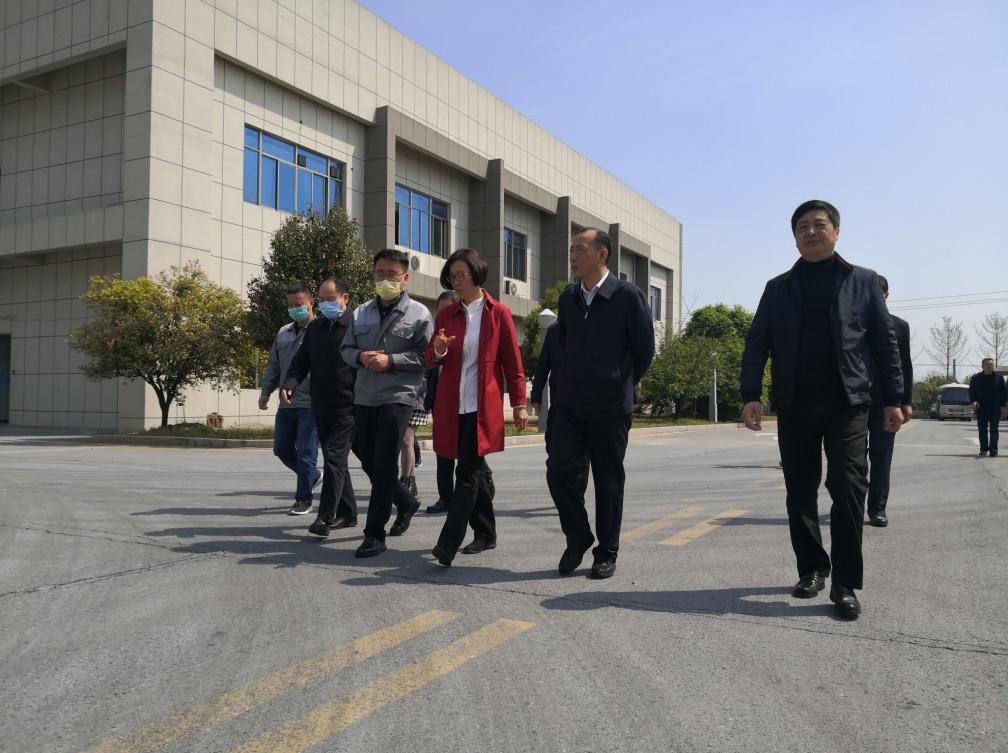 江西省人民政府副省长、党组成员吴忠琼来我司调研